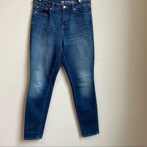 Gap high rise skinny jeans size 8/29r